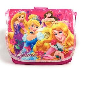 Disney Princesses Girl's Crossbody Messenger Bag